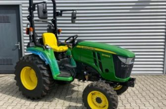 John Deere 3038E compact tractor for sale